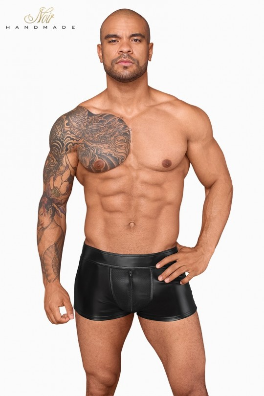 Short wetlook et filet H058