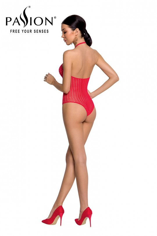 Body string résille BS088 - Rouge